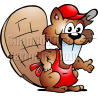 Buck Toothed Beaver