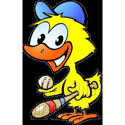 Chicken Baseball Player