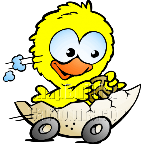 Chicken Egg Hatched Automobile