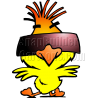 Chicken Wearing Sunglasses and Dancing