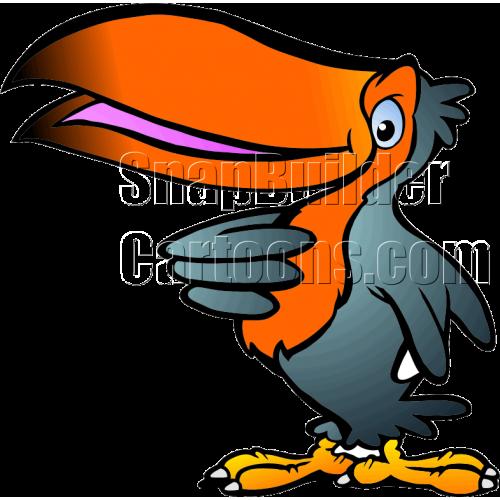 Tukan Bird Facing Left