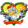 Christmas Fraim Duck with Pistols