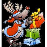 Christmas Reindeer Stacking Gifts