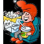 Christmas Elf Movie Popcorn Soda