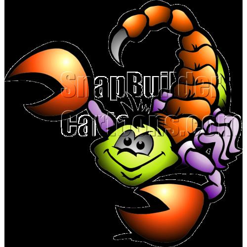 Scorpion Danger Facing Left