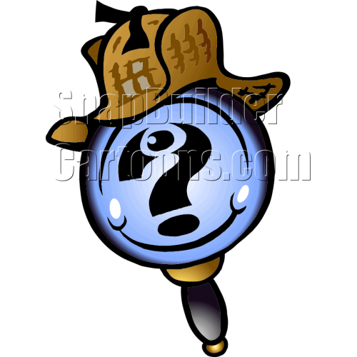 Magnify Glass with Question Mark