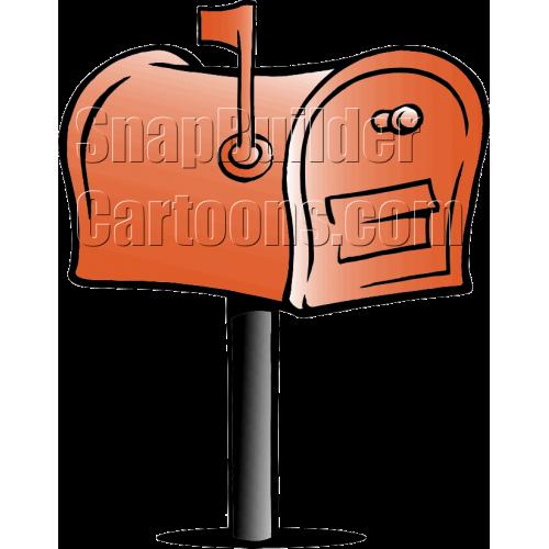 Mailbox Flag Up