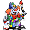 Clown Painter