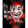 Devil Man Winking Evishly