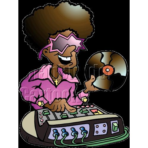 DJ Disco Mascot