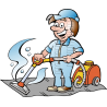 Carpet Cleaner Handyman with Carpet Cleaner