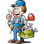 Plumbing Handyman with Plumbing Tools